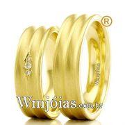 Aliancas em ouro 18k WM2352