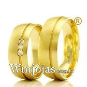 Aliancas em ouro 18k WM2358