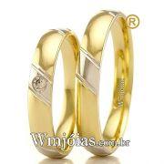 Aliancas em ouro 18k WM2365