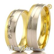 Alianças em ouro 18k WM2379