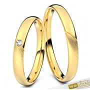 Alianças Maria casamento 18kilates 750 WM10345