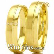 Aliancas modelos de ouro WM2401