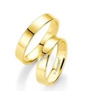 Alianças ouro amarelo 4,2mm de largura e 4 gramas - WM10301