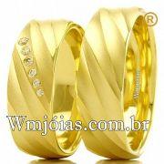 Aliancas para noivado e casamento WM2468