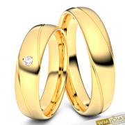 Alianças Suiça modelo trabalhado ouro 18k WM10343