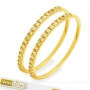 Aparador de Alianças em ouro amarelo 18k 750 - WM10147