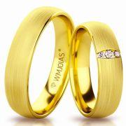 Modelos de alianças de casamento WM3144