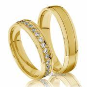 Trocar aliança, compromisso, noivado , casamento