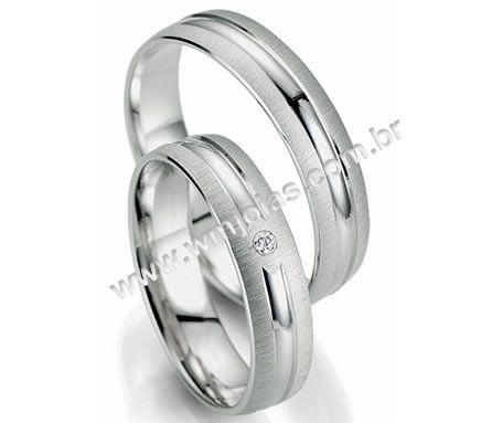 Alianca de casamento e noivado WM2004
