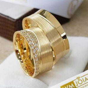 Aliança de casamento Personalizada  Peso 18 gramas o par Largura 8mm- WM10003