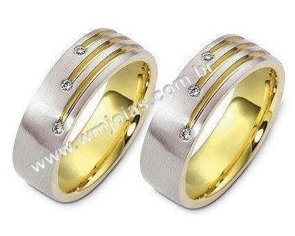 Aliança de casamento Taubaté WM1336