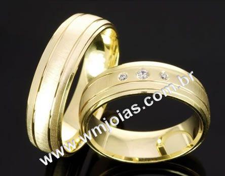 Alianca de casamento WM2037