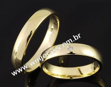 Alianca de casamento WM2053