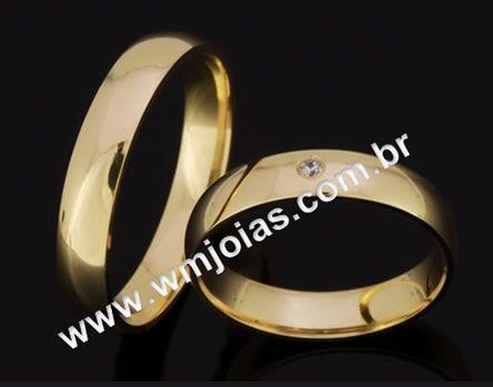 Alianca de casamento WM2056