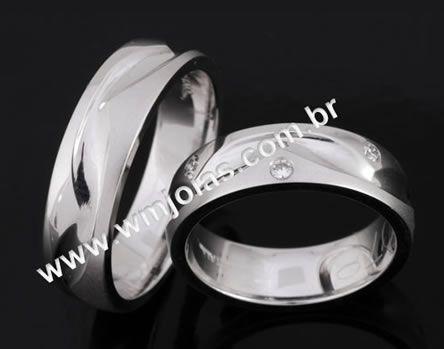 Aliança de casamento WM2060