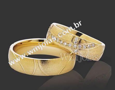 Alianca de casamento WM2083