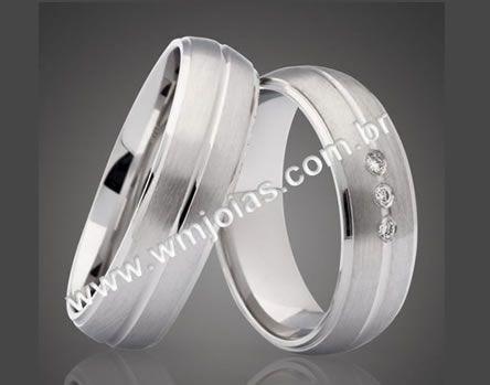 Alianca de casamento WM2137