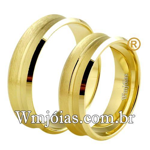 Aliança de casamento WM2531