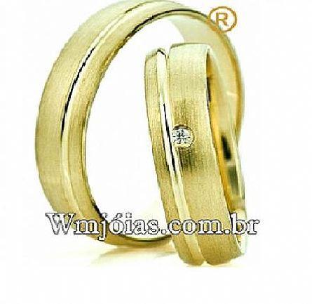 Aliança de casamento WM2546