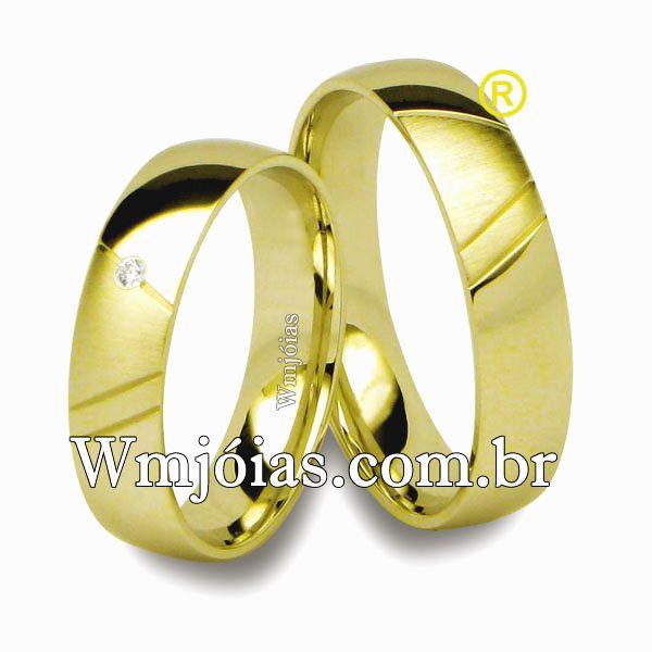 Aliança de casamento WM2550