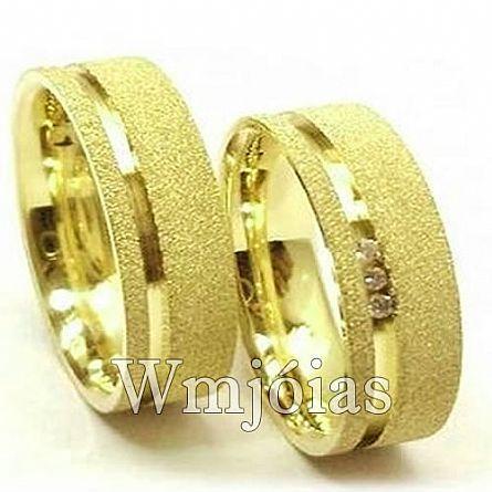 Aliança de casamento WM2903