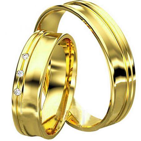 Aliança de casamento WM2915