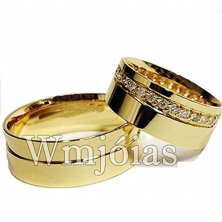 Aliança de casamento WM2975