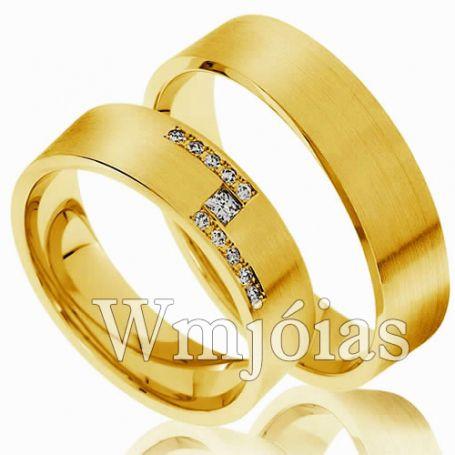Aliança de Casamento WM3000