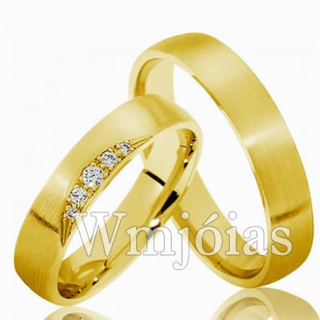 Aliança de casamento WM3007