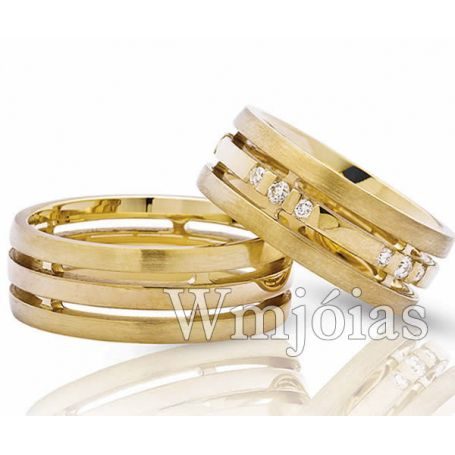 Aliança de Casamento WM3036