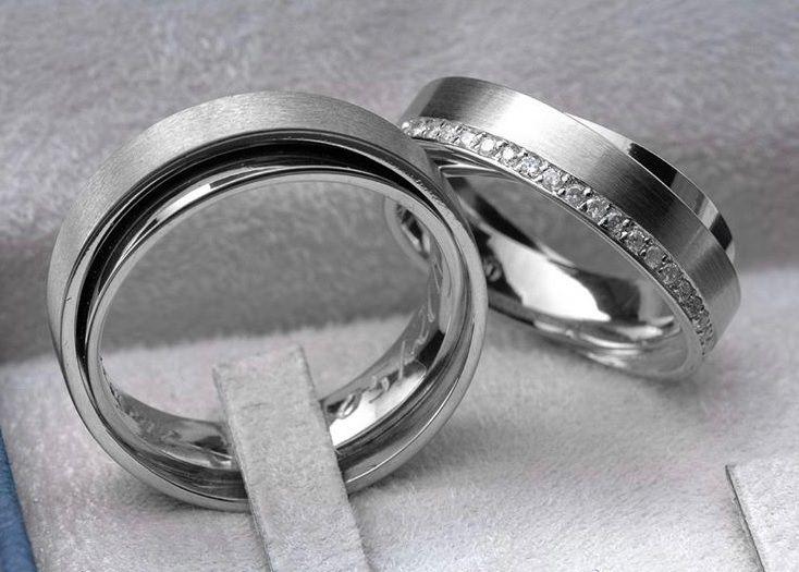 Aliança de namoro prata 950   Peso 14 gramas Largura 6mm - WM10129