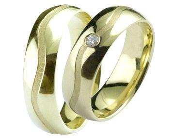 Aliança de noivado e casamento WM1407