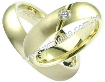 Aliança de noivado e casamento WM1416