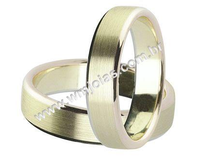 Aliança de noivado e casamento WM1547