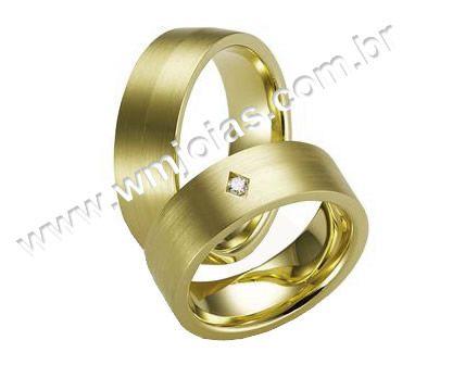 Aliança de noivado e casamento WM1600
