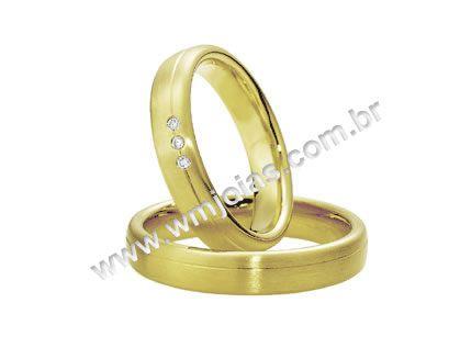 Aliança de noivado e casamento WM1611