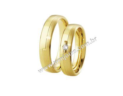 Aliança de noivado e casamento WM1628