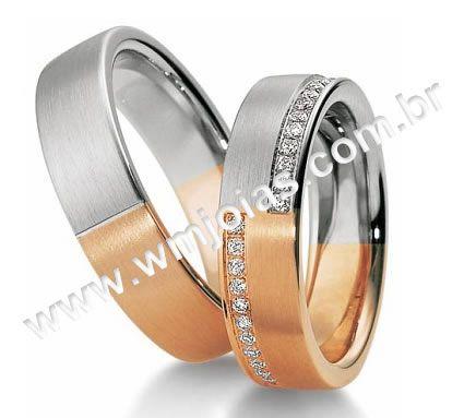 Alianca de noivado e casamento WM2001