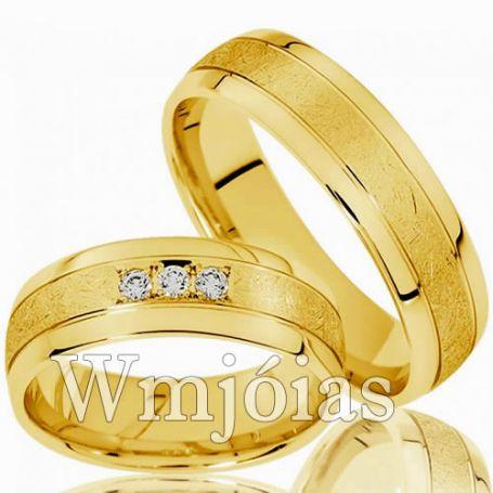 Aliança para noivado WM2985