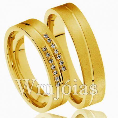 Aliança para noivado WM3002