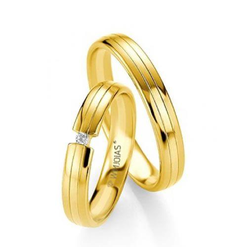Alianças de casamento  Baratas  em ouro 18k