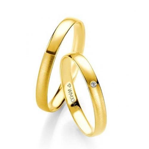 Alianças Baratas em ouro 18k - 4,3 gramas e 4,7mm -WM9373
