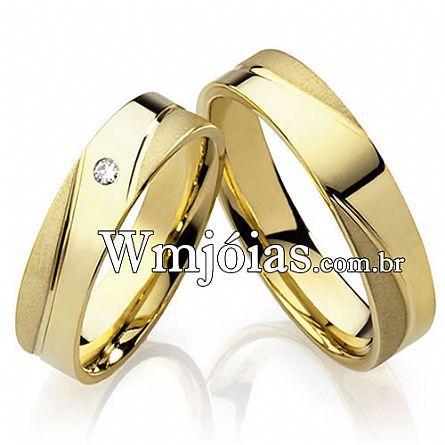 Alianças casamento Americana WM2232