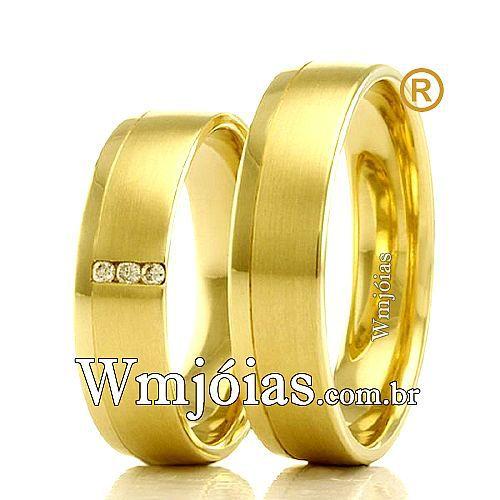 Alianças casamento Aracruz WM2274