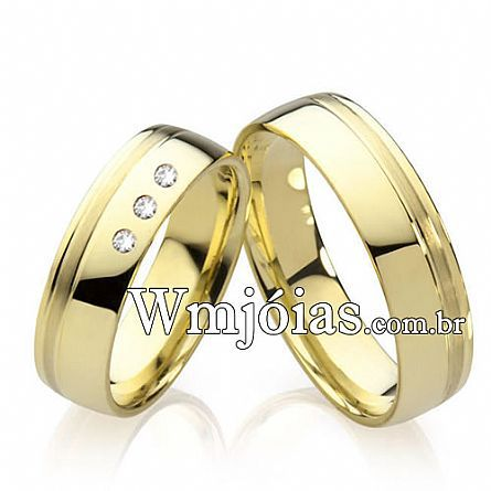 Alianças casamento Araraquara WM2213