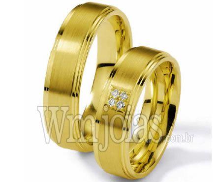 Alianças casamento Mogi Guaçu WM2269