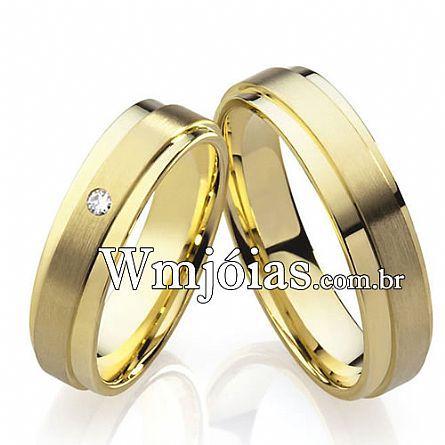 Alianças casamento Paulinia WM2229