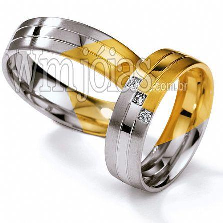 Alianças casamento Piracicaba WM2275