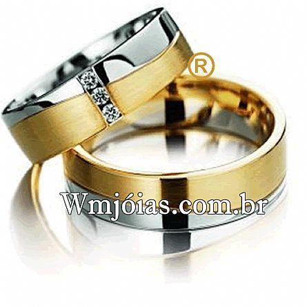Alianças casamento Rio claro WM2281