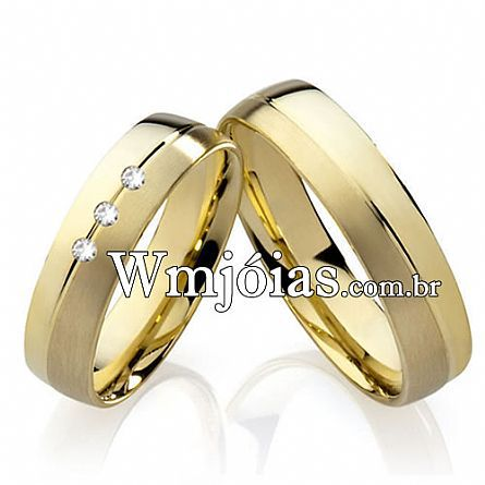 Alianças casamento Sertaozinho WM2218